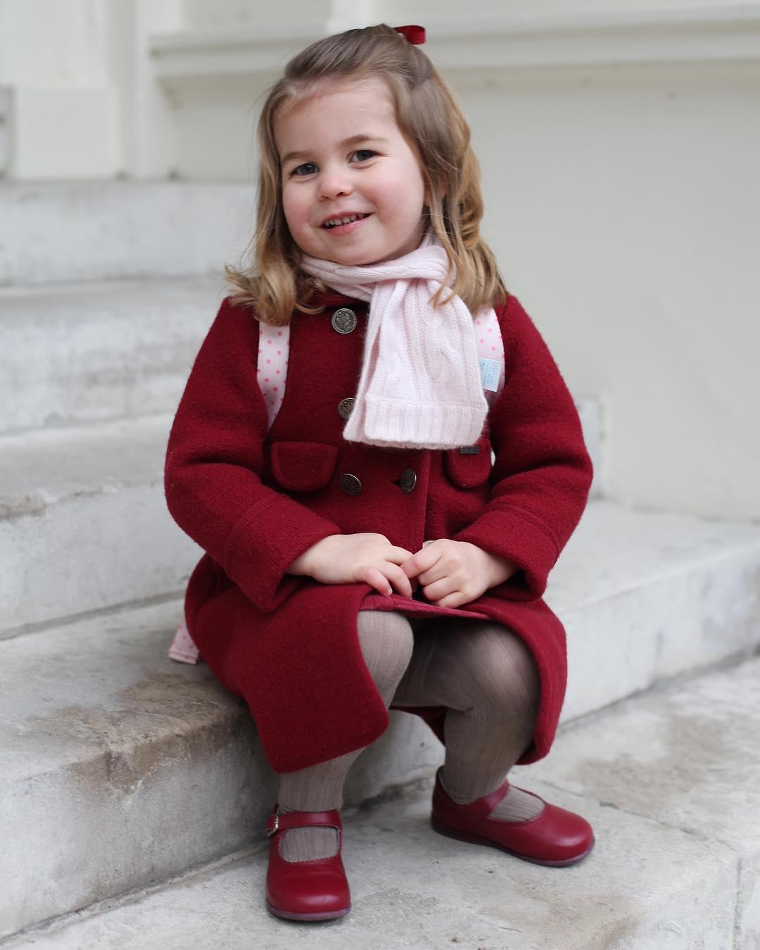 Księżniczka Charlotte sesja