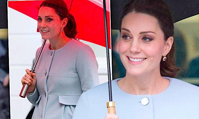 Księżna Kate brzuch