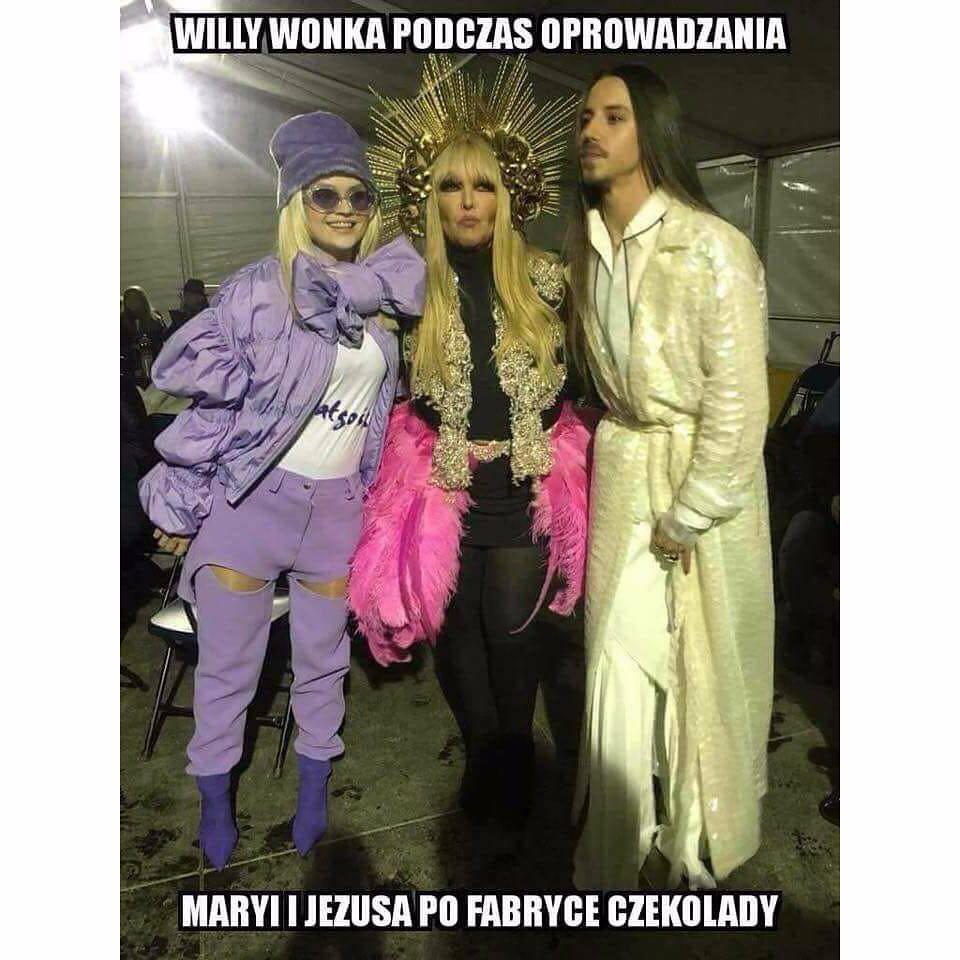 Margaret i Michał Szpak z Marylą Rodowicz