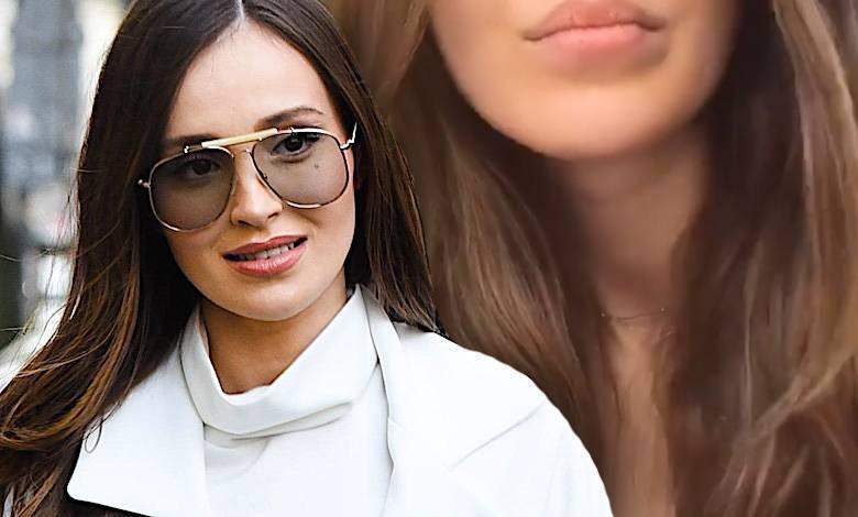 Marina Łuczenko bez makijażu