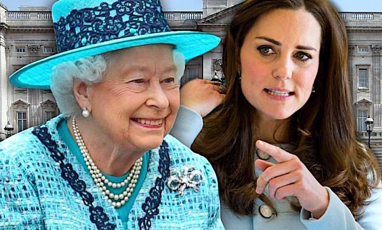 Księżna Kate i królowa Elżbieta II