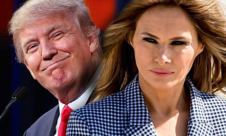 Melania Trump Donald wpadka