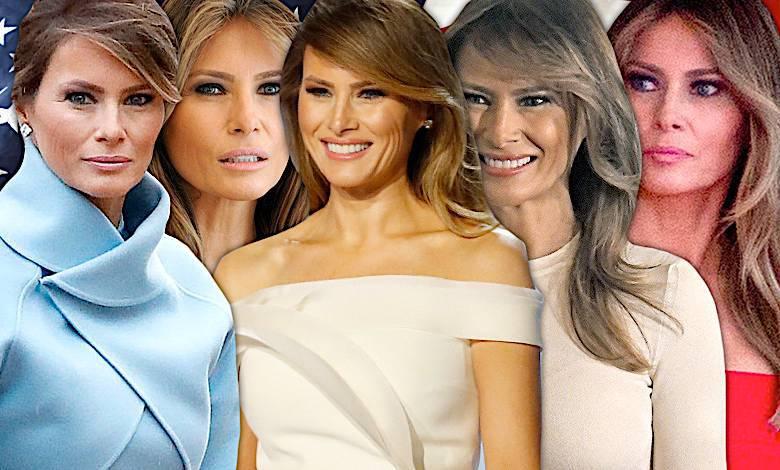 Melania Trump najpiękniejsze kreacje