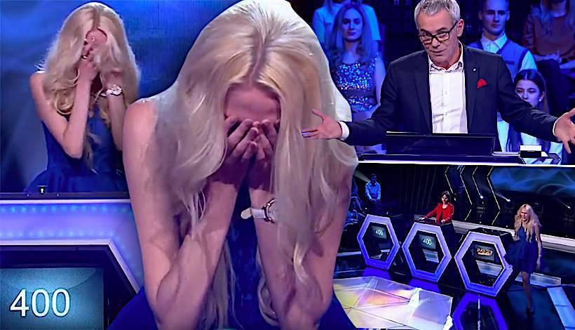 Uczestniczka wyszła z jaka to melodia z płaczem podczas finału