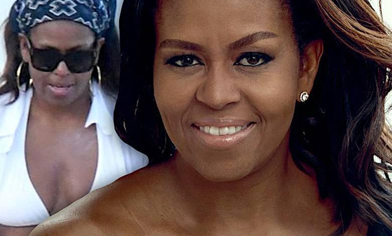 Michelle Obama w bikini