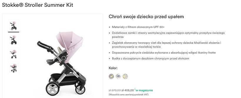 Natalia Siwiec kupiła nowy wózek dla Mii