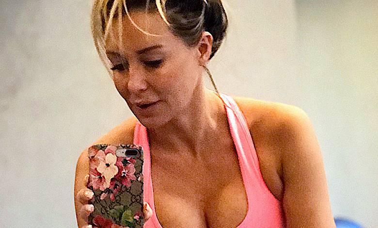 Małgorzata Rozenek na siłowni