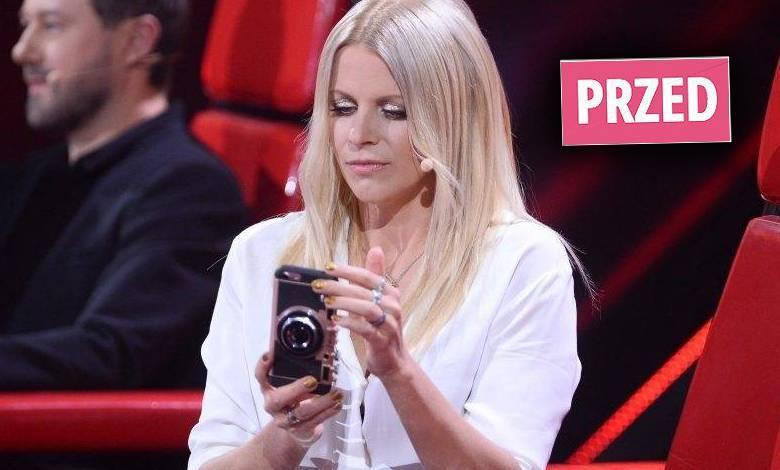 Maria Sadowska w nowej fryzurze