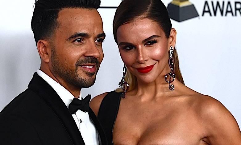 Agueda Lopez nago Grammy Luis Fonsi żona