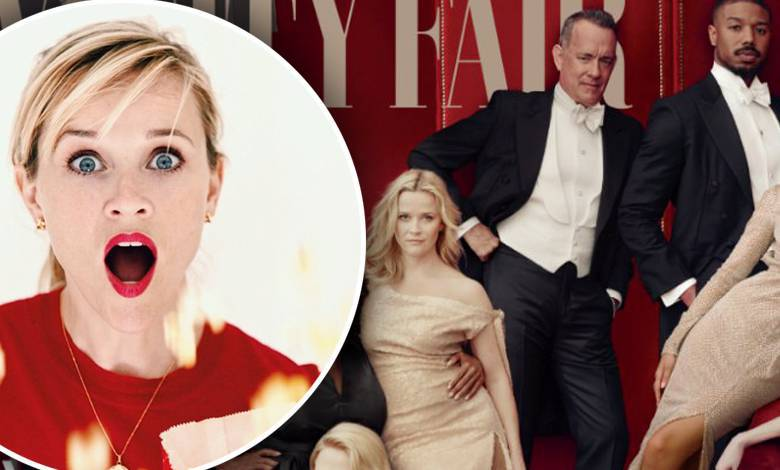 Reese Witherspoon ma trzy nogi na okładce Vanity Fair