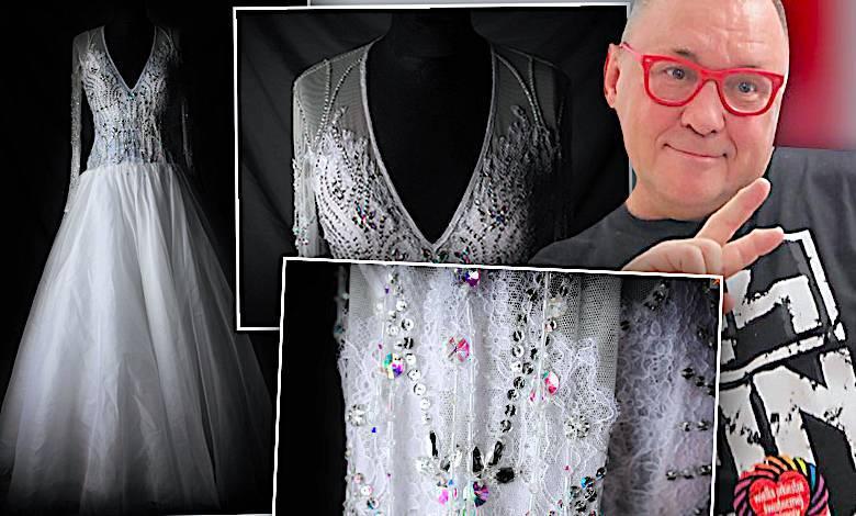 Suknia ślubna Agnieszki Radwańskiej na aukcji WOŚP