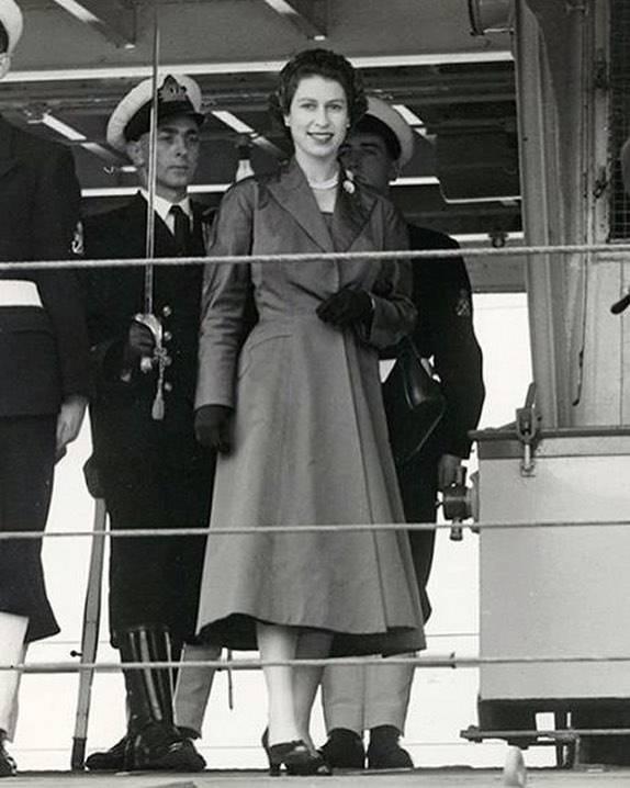 Królowa Elżbieta w Irlandii po koronacji