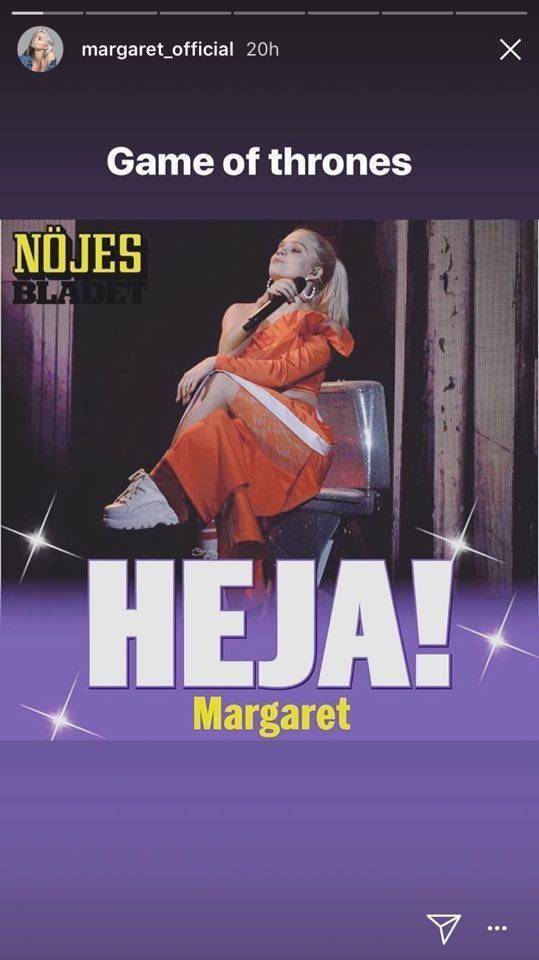 Margaret śpiewa na sedesie