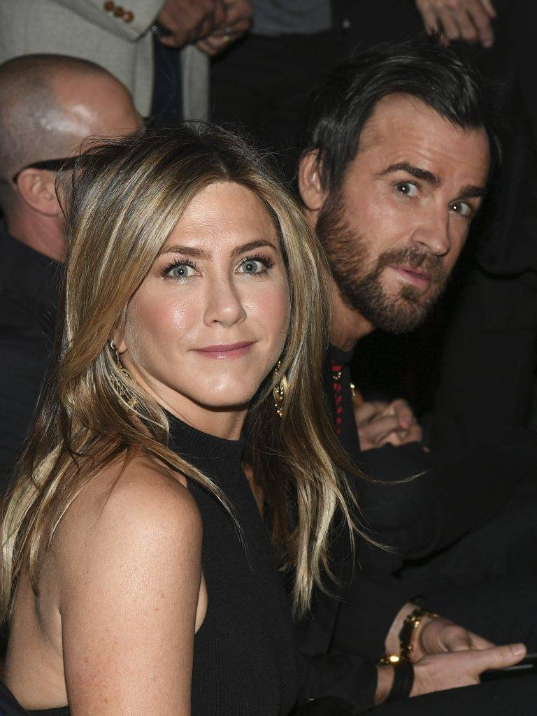 Jennifer Aniston i Justin Theroux – Paryż 2017