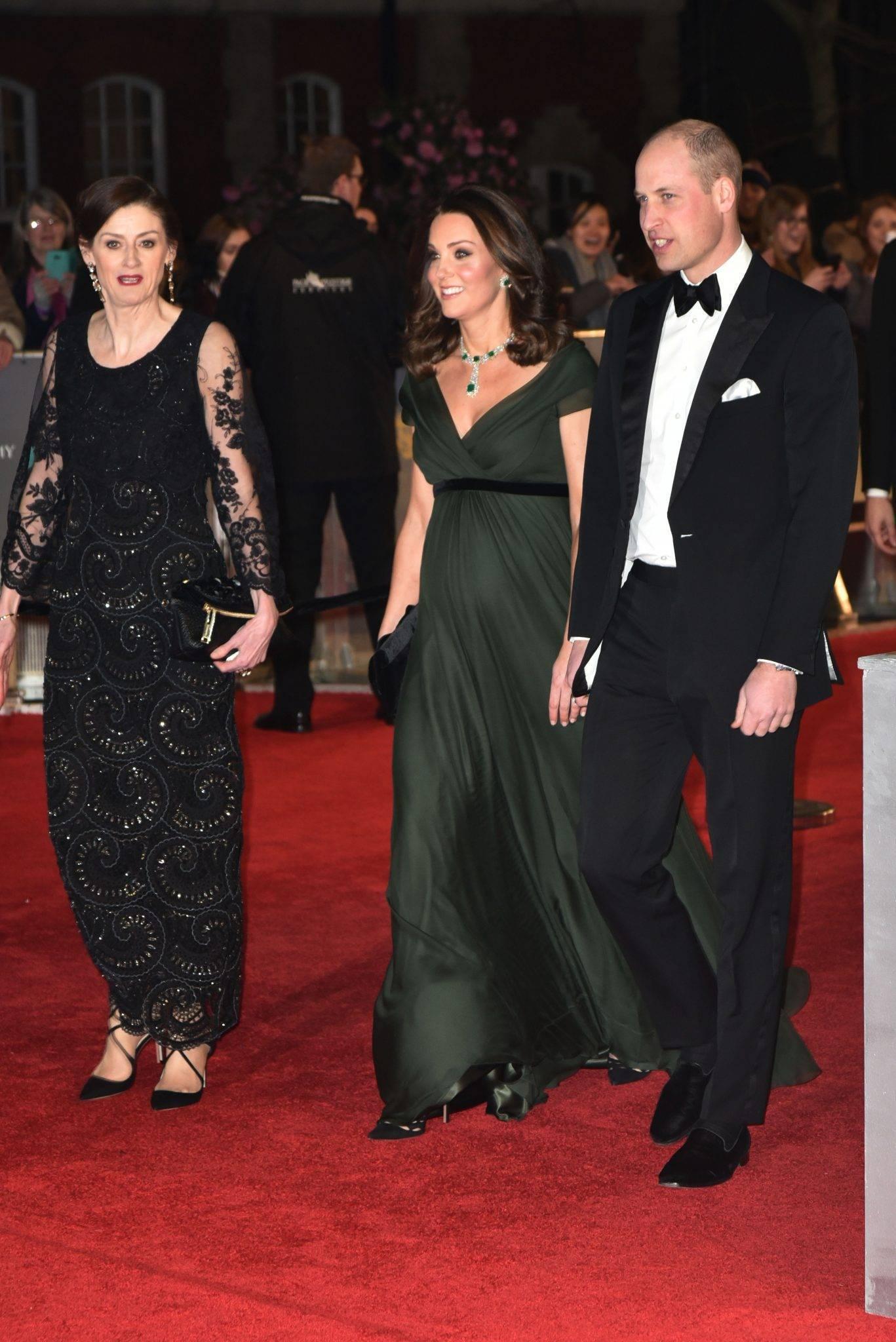Księżna Kate i książę William – BAFTA 2018