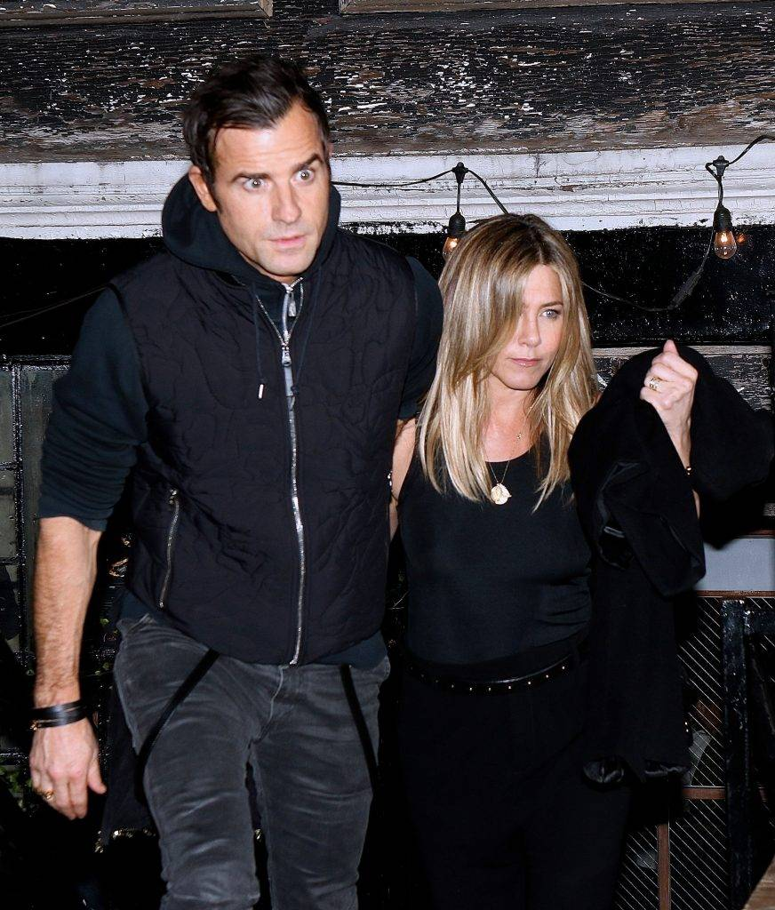 Jennifer Aniston i Justin Theroux – Nowy Jork 2016