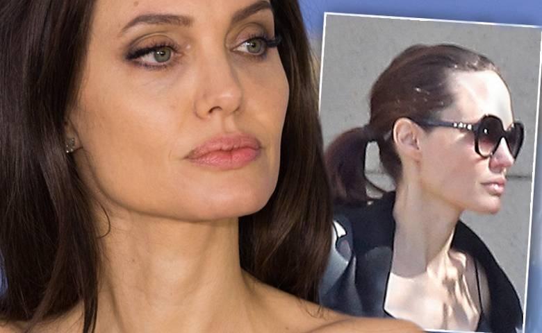 Angelina Jolie chuda