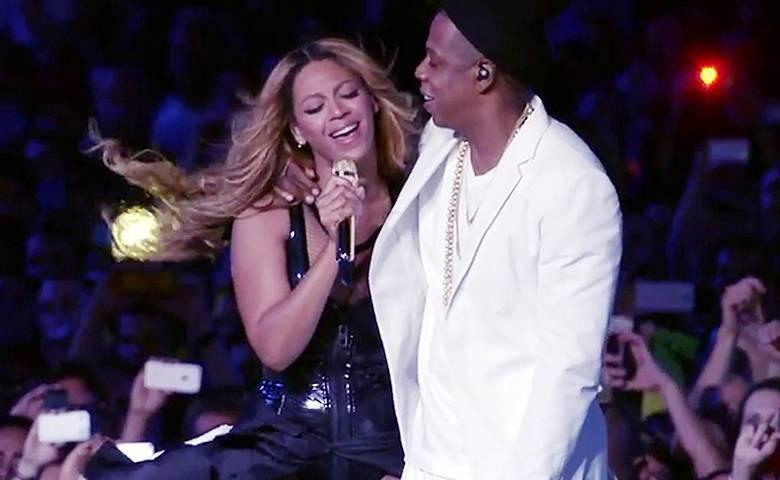 Beyonce i Jay-Z razem na scenie