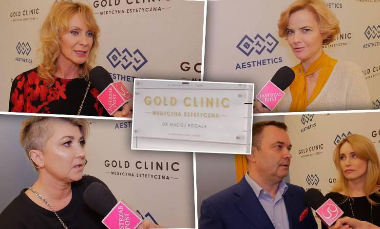 Gold Clinic - gwiazdy dbają o formę