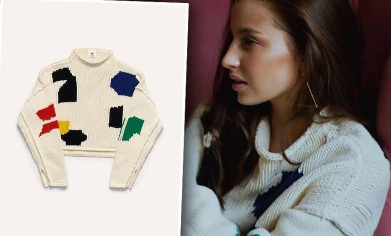 Julia Wieniawa w swetrze z sieciówki