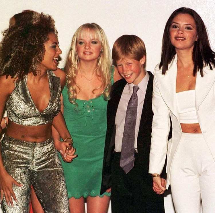 Książę Harry i Spice Girls