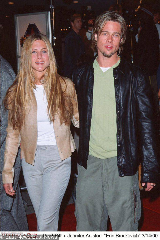 Jennifer Aniston i Brad Pitt – 1998