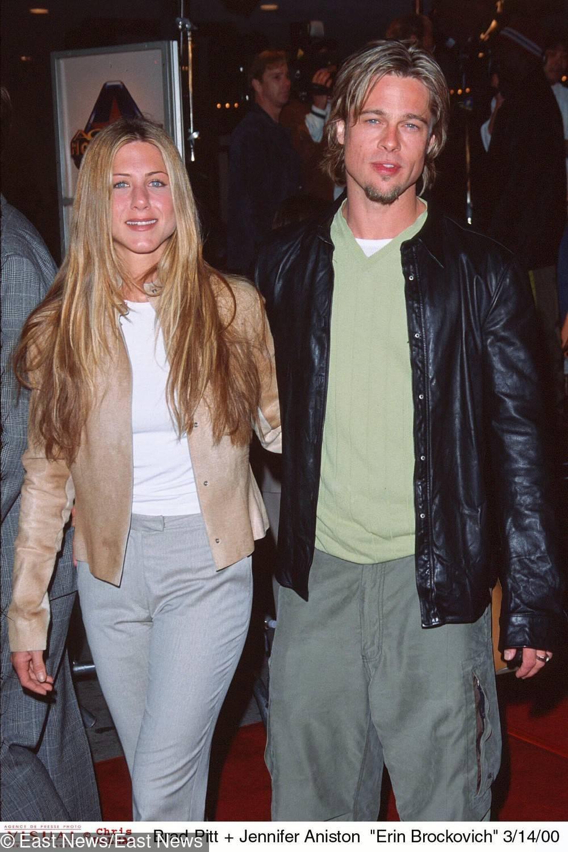Jennifer Aniston i Brad Pitt – 1998