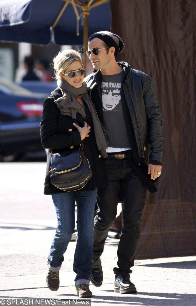 Jennifer Aniston i Justin Theroux – 2011