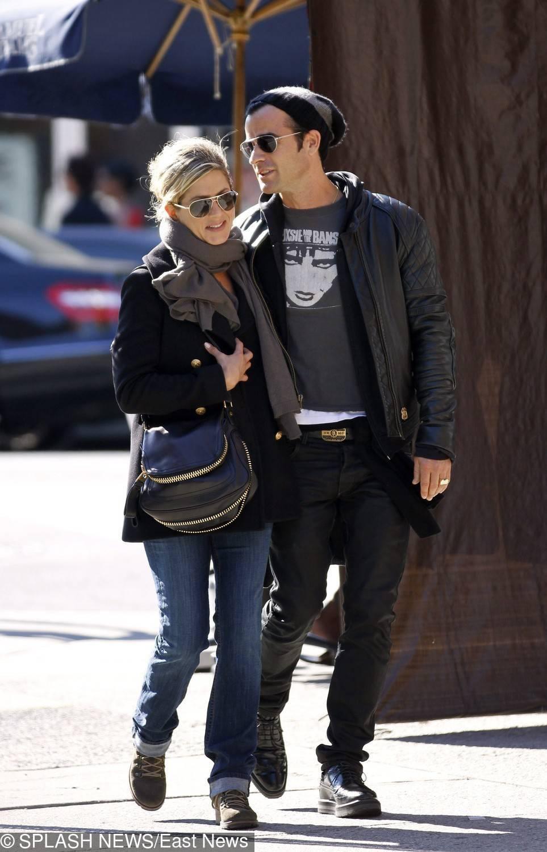Jennifer Aniston i Justin Theroux – 2011