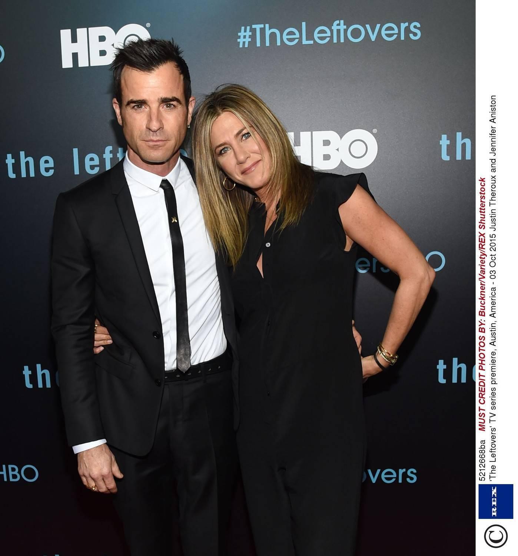 Justin Theroux i Jennifer Aniston – 2015