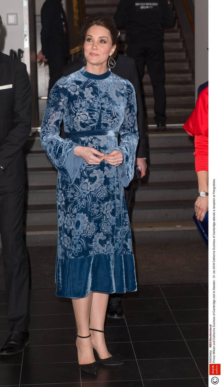 Księżna Kate w sukience Erdem