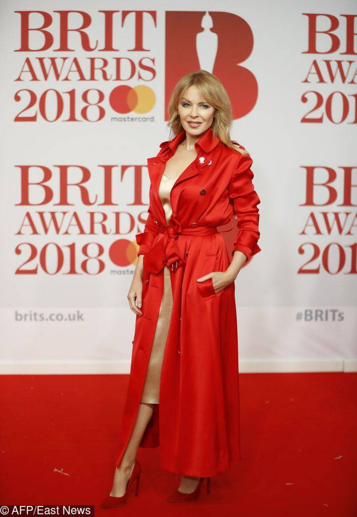 Kylie Minogue – Brit Awards 2018