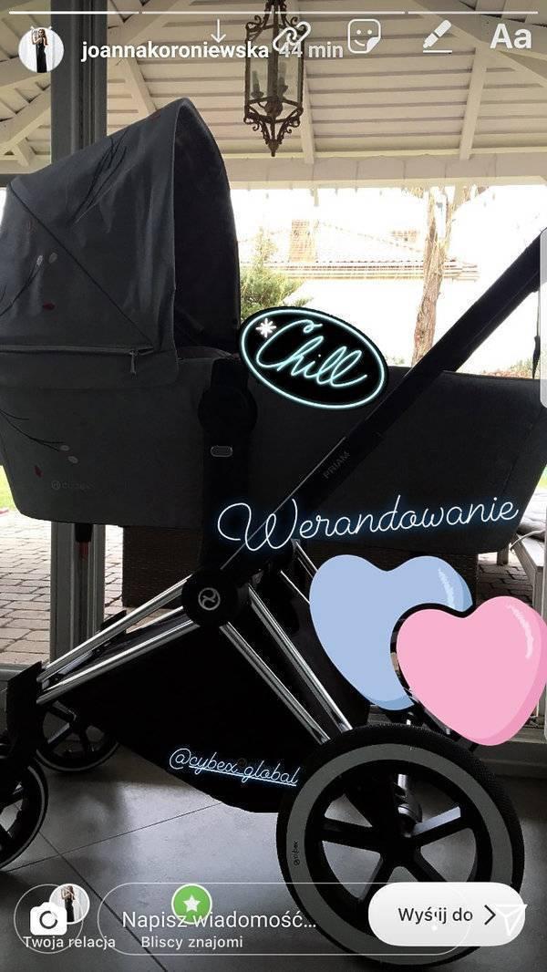 Joanna Koroniewska – wózek