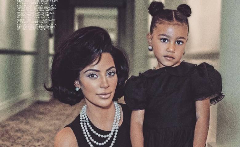 Kim Kardashian i North – sesja dla magazynu Interview