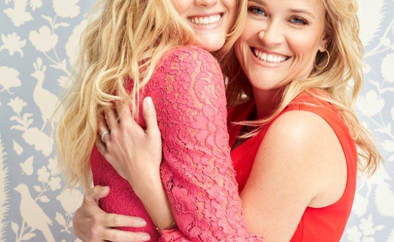 Reese Witherspoon i Ava Phillippe – sesja Draper James