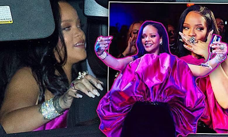 Rihanna urodziny pijana