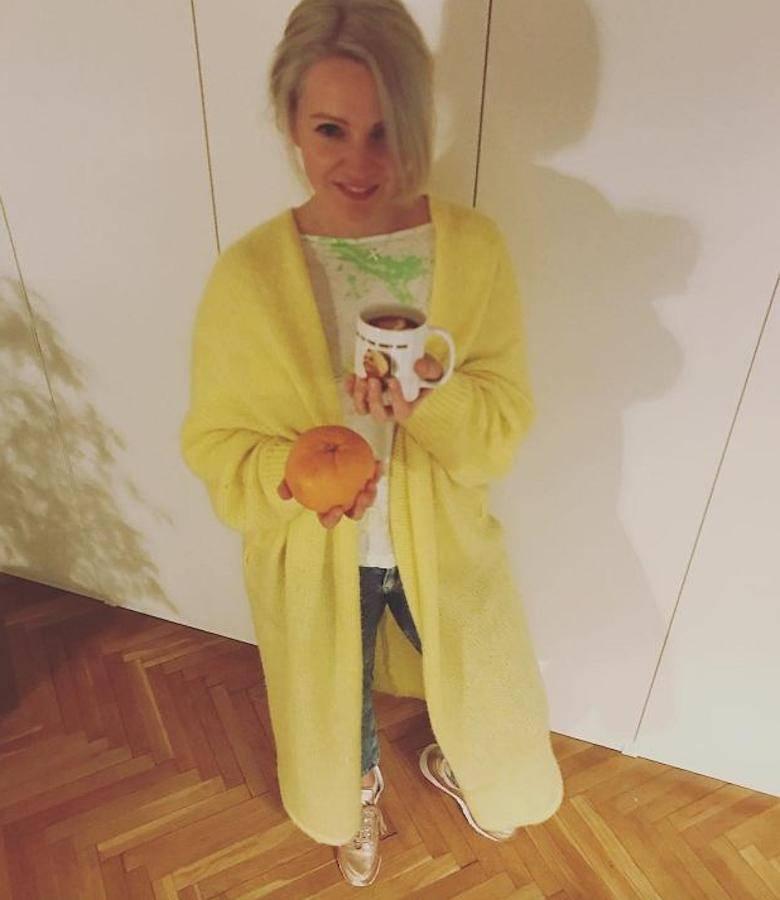Dorota Szelągowska po porodzie