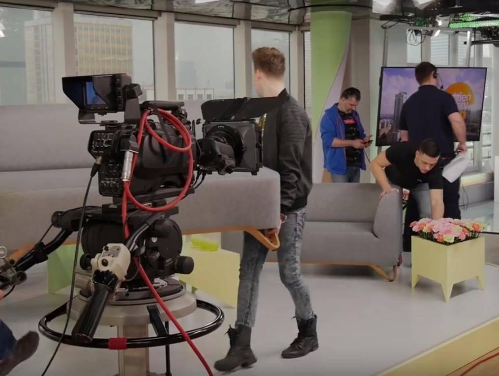 Studio Dzień Dobry TVN od kulis