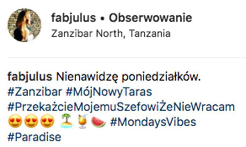 Kamil Durczok dyskutuje z Julią Oleś na Instagramie