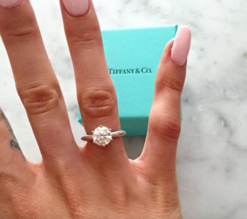 Marina – pierścionek zaręczynowy Tiffany&Co. za 50 tysięcy złotych