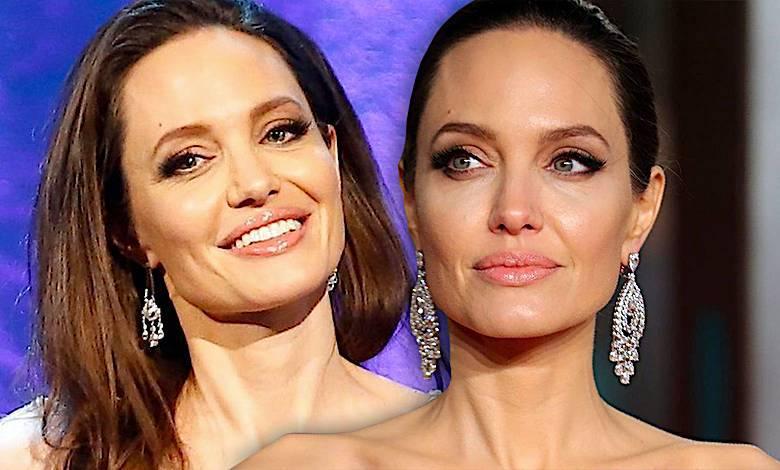 Angelina Jolie BAFTA 2018 kreacja