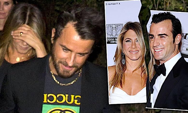 Jennifer Aniston i Justin Theroux ostatnie spotkanie