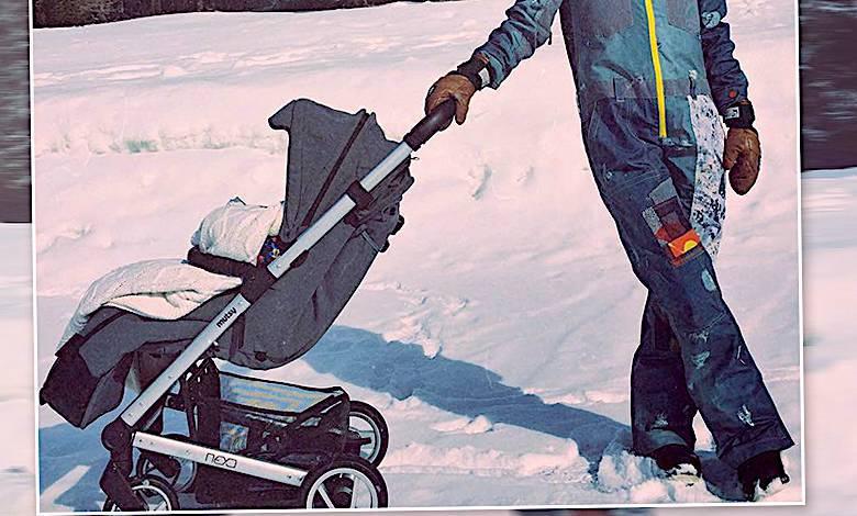 Ania Rusowicz z synem na spacerze. Jaki wózek?