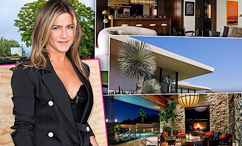 Jennifer Aniston dom, jak mieszka?