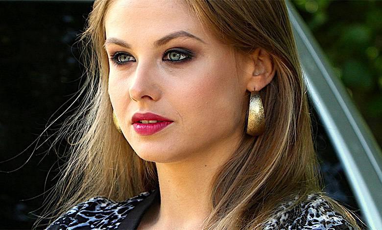 Anna Karczmarczyk bez makijażu