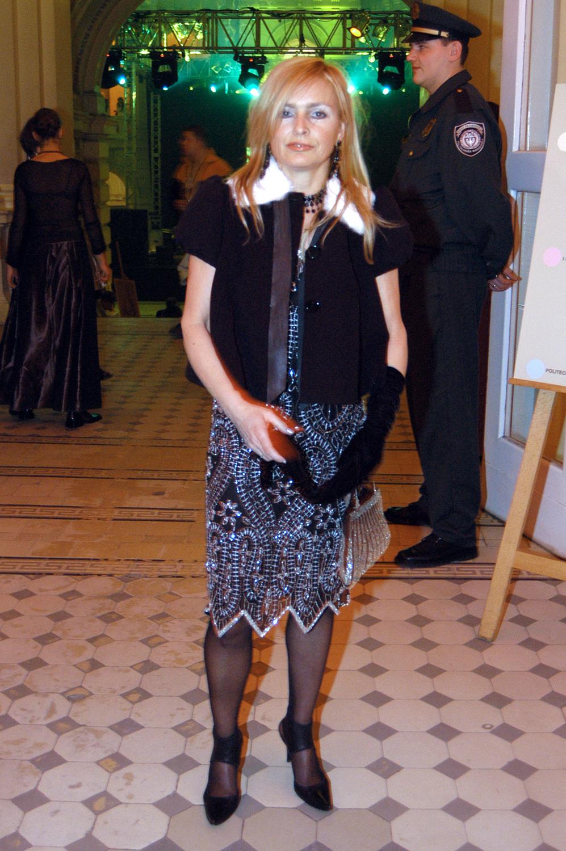Monika Olejnik - Bal Dziennikarzy 2004