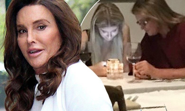Caitlyn Jenner na kolacji z partnerką