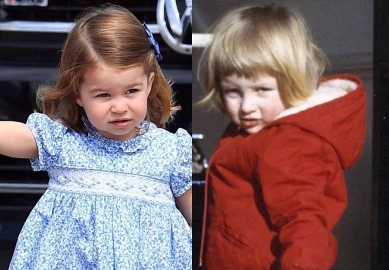 Księżniczka Charlotte i księżna Diana