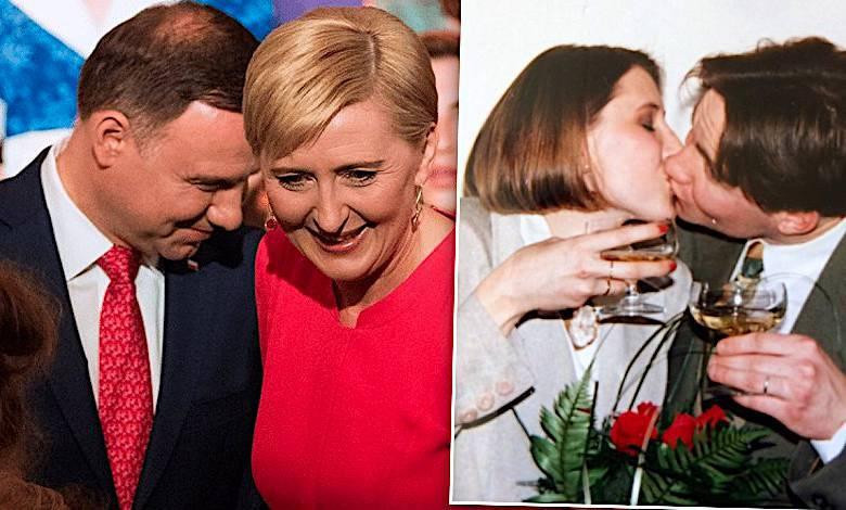 Agata i Andrzej Duda