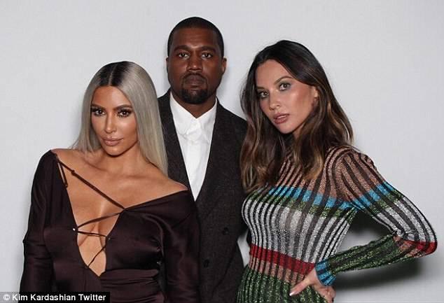 Kim Kardashian i Kanye West – 60 urodziny Ellen DeGeneres